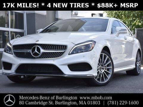 2017 Mercedes-Benz CLS for sale at Mercedes Benz of Burlington in Burlington MA