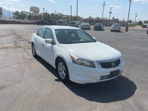 2008 Honda Accord for sale at University Auto Sales in Cedar City UT