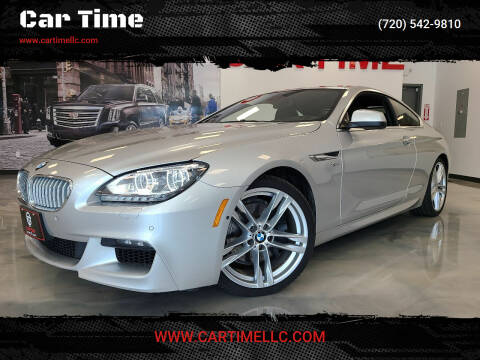 2012 BMW 6 Series for sale at Car Time in Denver CO