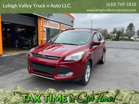 2013 Ford Escape for sale at Lehigh Valley Truck n Auto LLC. in Schnecksville PA