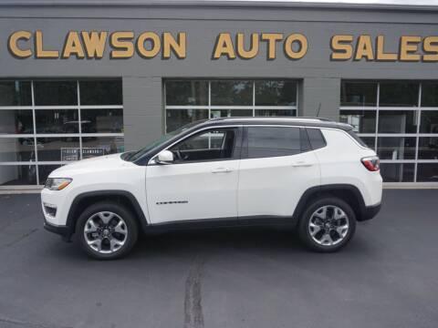 2021 Jeep Compass for sale at Clawson Auto Sales in Clawson MI
