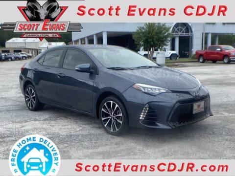 2019 Toyota Corolla for sale at SCOTT EVANS CHRYSLER DODGE in Carrollton GA