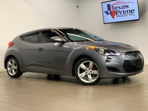 2013 Hyundai Veloster for sale at Texas Prime Motors in Houston TX