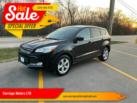 2014 Ford Escape for sale at Carriage Motors LTD in Ingleside IL