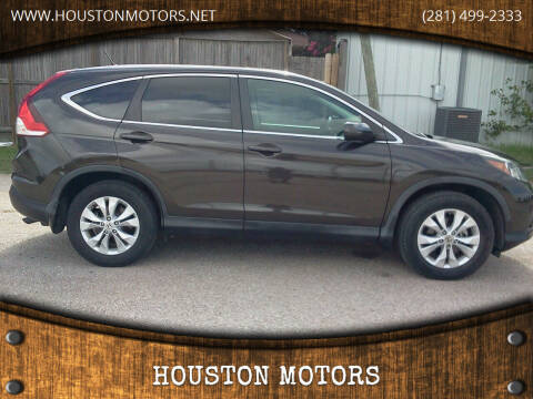 2014 Honda CR-V for sale at HOUSTON MOTORS in Stafford TX