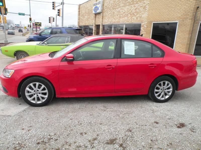2012 Volkswagen Jetta for sale at Kingdom Auto Centers in Litchfield IL