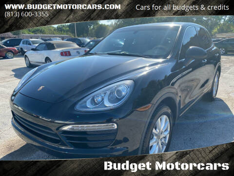 2013 Porsche Cayenne for sale at Budget Motorcars in Tampa FL