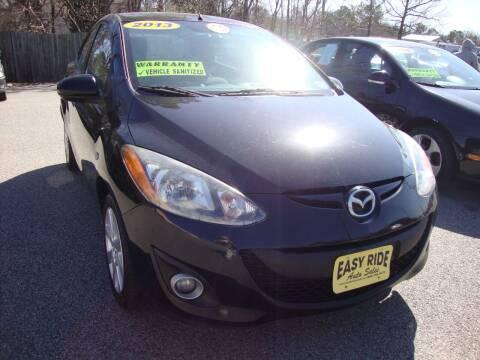 2013 Mazda MAZDA2 for sale at Easy Ride Auto Sales Inc in Chester VA