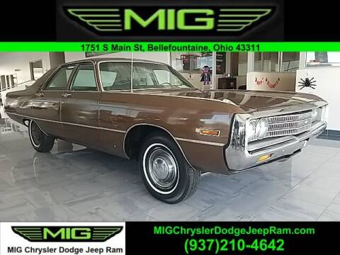 1971 Chrysler Newport for sale at MIG Chrysler Dodge Jeep Ram in Bellefontaine OH