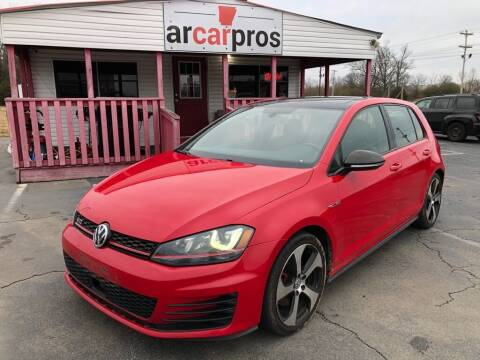 2015 Volkswagen Golf GTI for sale at Arkansas Car Pros in Cabot AR