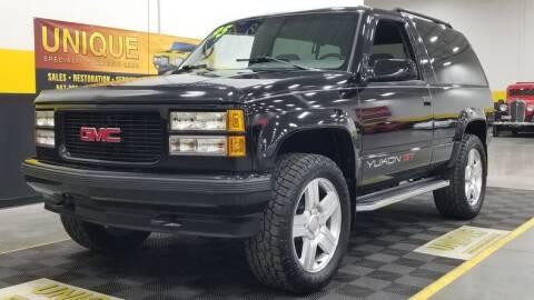 1995 GMC Yukon for sale at UNIQUE SPECIALTY & CLASSICS in Mankato MN