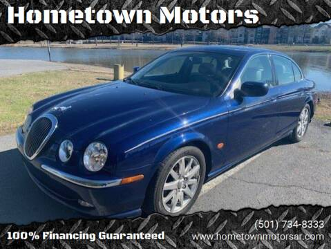 2002 Jaguar S-Type for sale at Hometown Motors in Maumelle AR
