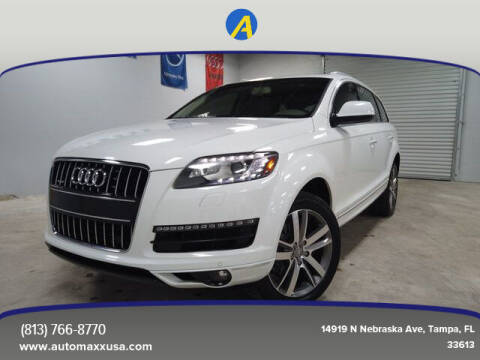 2014 Audi Q7 for sale at Automaxx in Tampa FL