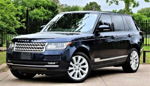 2016 Land Rover Range Rover for sale at Texas Auto Corporation in Houston TX