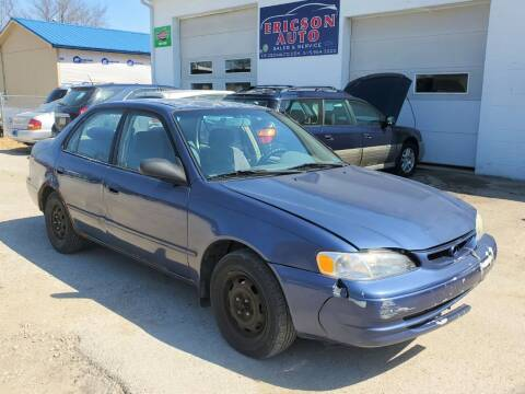1999 Toyota Corolla for sale at Ericson Auto in Ankeny IA