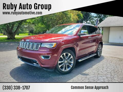 2017 Jeep Grand Cherokee for sale at Ruby Auto Group in Hudson OH