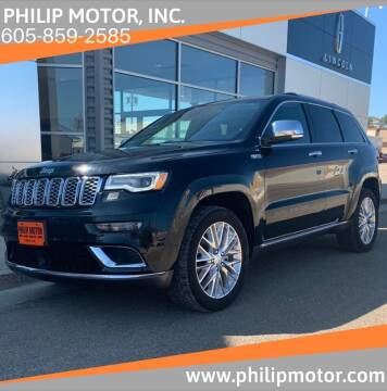 2017 Jeep Grand Cherokee for sale at Philip Motor Inc in Philip SD