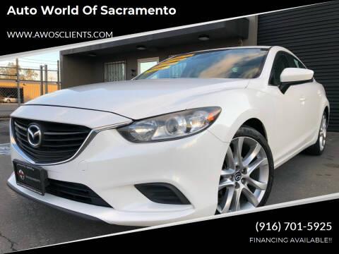 2014 Mazda MAZDA6 for sale at Auto World of Sacramento Stockton Blvd in Sacramento CA
