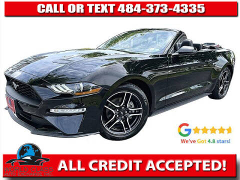 2019 Ford Mustang for sale at World Class Auto Exchange in Lansdowne PA