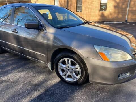 2007 Honda Accord for sale at Wheel Tech Motor Vehicle Sales in Maylene AL