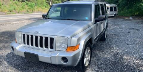 2006 Jeep Commander for sale at JM Auto Sales in Shenandoah PA