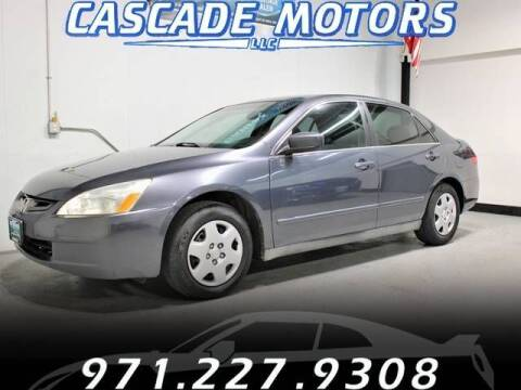 2005 Honda Accord for sale at Cascade Motors in Portland OR
