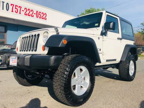 2009 Jeep Wrangler for sale at Trimax Auto Group in Norfolk VA