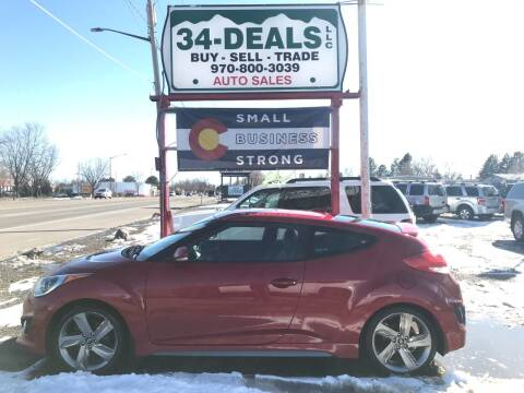2013 Hyundai Veloster for sale at 34 Deals LLC in Loveland CO