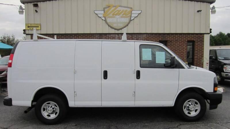 2020 Chevrolet Express Cargo for sale at Vans Of Great Bridge in Chesapeake VA
