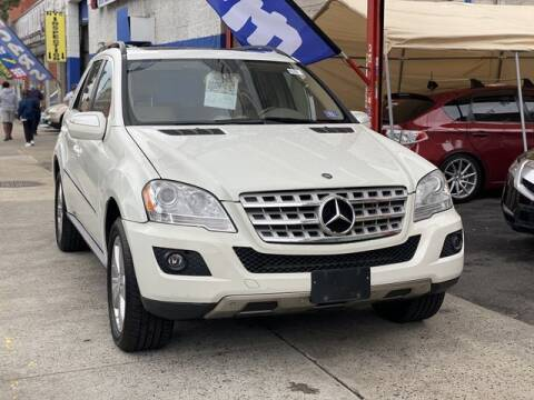 2010 Mercedes-Benz M-Class for sale at New 3 Way Auto Sales in Bronx NY