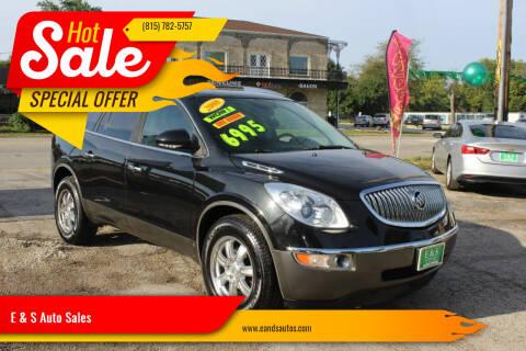 2008 Buick Enclave for sale at E & S Auto Sales in Crest Hill IL