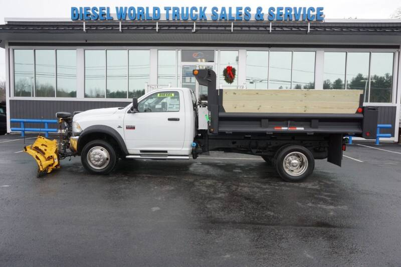 2012 RAM Ram Chassis 5500 for sale at Diesel World Truck Sales in Plaistow NH