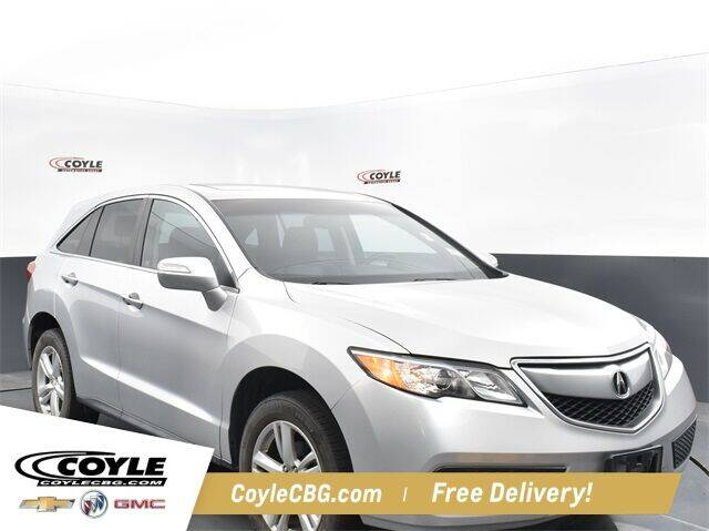 2013 Acura RDX for sale at COYLE GM - COYLE NISSAN - New Inventory in Clarksville IN