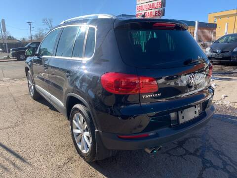 2017 Volkswagen Tiguan for sale at STS Automotive in Denver CO