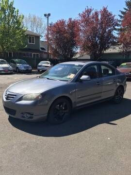 2004 Mazda MAZDA3 for sale at Blue Line Auto Group in Portland OR