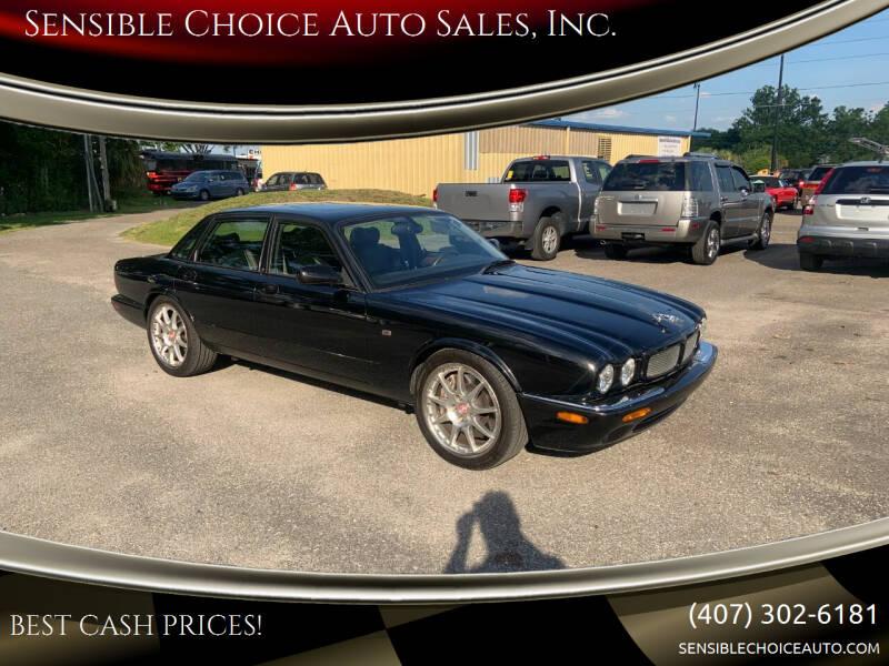 2002 Jaguar XJR for sale at Sensible Choice Auto Sales, Inc. in Longwood FL