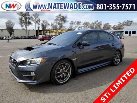 2016 Subaru WRX for sale at NATE WADE SUBARU in Salt Lake City UT