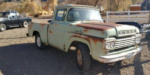1959 Ford F-100 for sale at Classic Car Deals in Cadillac MI