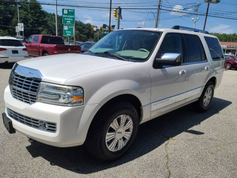 2010 Lincoln Navigator for sale at Car and Truck Exchange, Inc. in Rowley MA