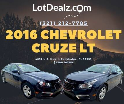 2016 Chevrolet Cruze Limited for sale at ROCKLEDGE in Rockledge FL