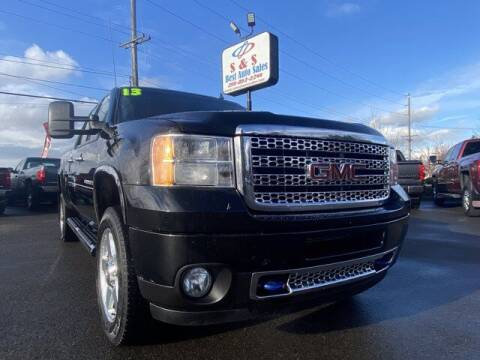 2013 GMC Sierra 2500HD for sale at S&S Best Auto Sales LLC in Auburn WA