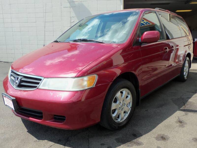 2002 Honda Odyssey for sale at FIRST CHOICE AUTO Inc in Middletown OH