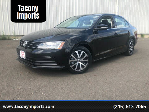 2017 Volkswagen Jetta for sale at Tacony Imports in Philadelphia PA