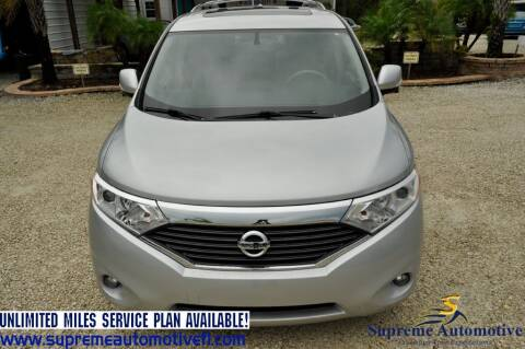 2014 Nissan Quest for sale at Supreme Automotive in Land O Lakes FL