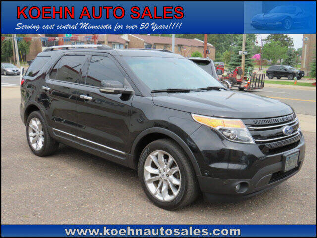 2012 Ford Explorer for sale at Koehn Auto Sales in Lindstrom MN