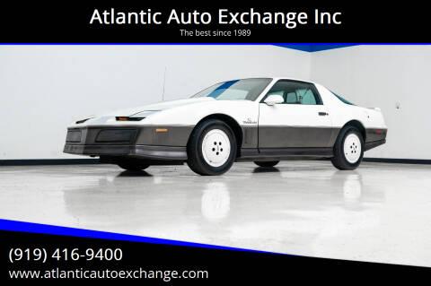 1983 Pontiac Firebird for sale at Atlantic Auto Exchange Inc in Durham NC