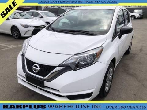 2017 Nissan Versa Note for sale at Karplus Warehouse in Pacoima CA