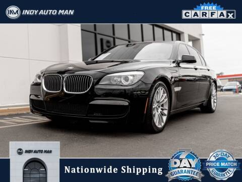 2012 BMW 7 Series for sale at INDY AUTO MAN in Indianapolis IN