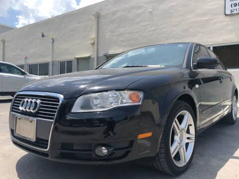 2007 Audi A4 for sale at Eden Cars Inc in Hollywood FL
