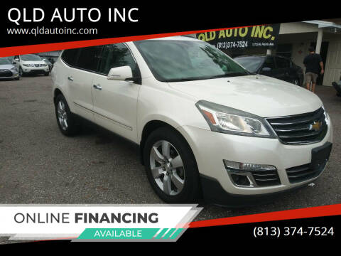2015 Chevrolet Traverse for sale at QLD AUTO INC in Tampa FL